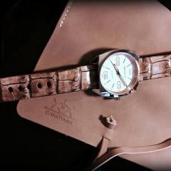 magrette sur bracelet vanuatu miel vintage canotage