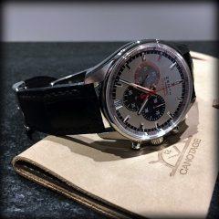 zenith sur bracelet montre vanuatu noir