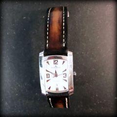 baume et mercier sur bracelet montre patiné soay