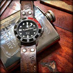 montre octopus sur bracelet okinawa